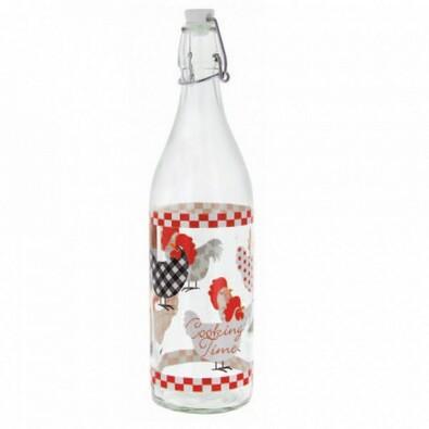 KURKI Butelka z patentowym korkiem 1 l