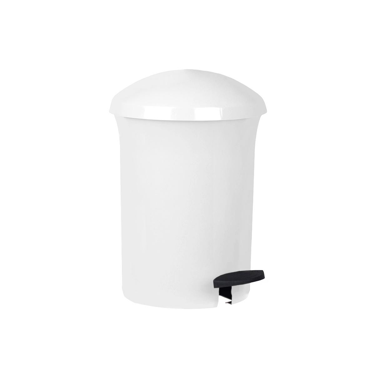 Aldo Pedálový odpadkový kôš Dust Bin 8,1 l, biela