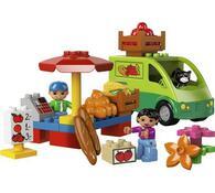 Lego Duplo Tržiště, vícebarevná