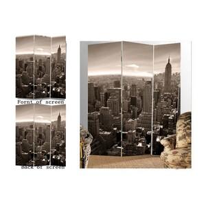 Paravan město  New York 3dílný