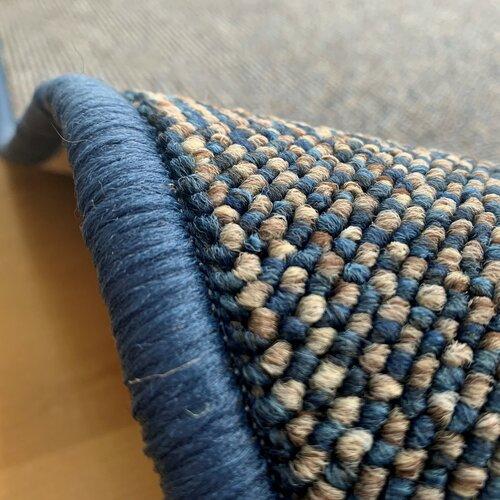 Porto darabszőnyeg, kék, 80 x 150 cm