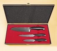 Sada nožů z japonské oceli DAMASTER D1022
