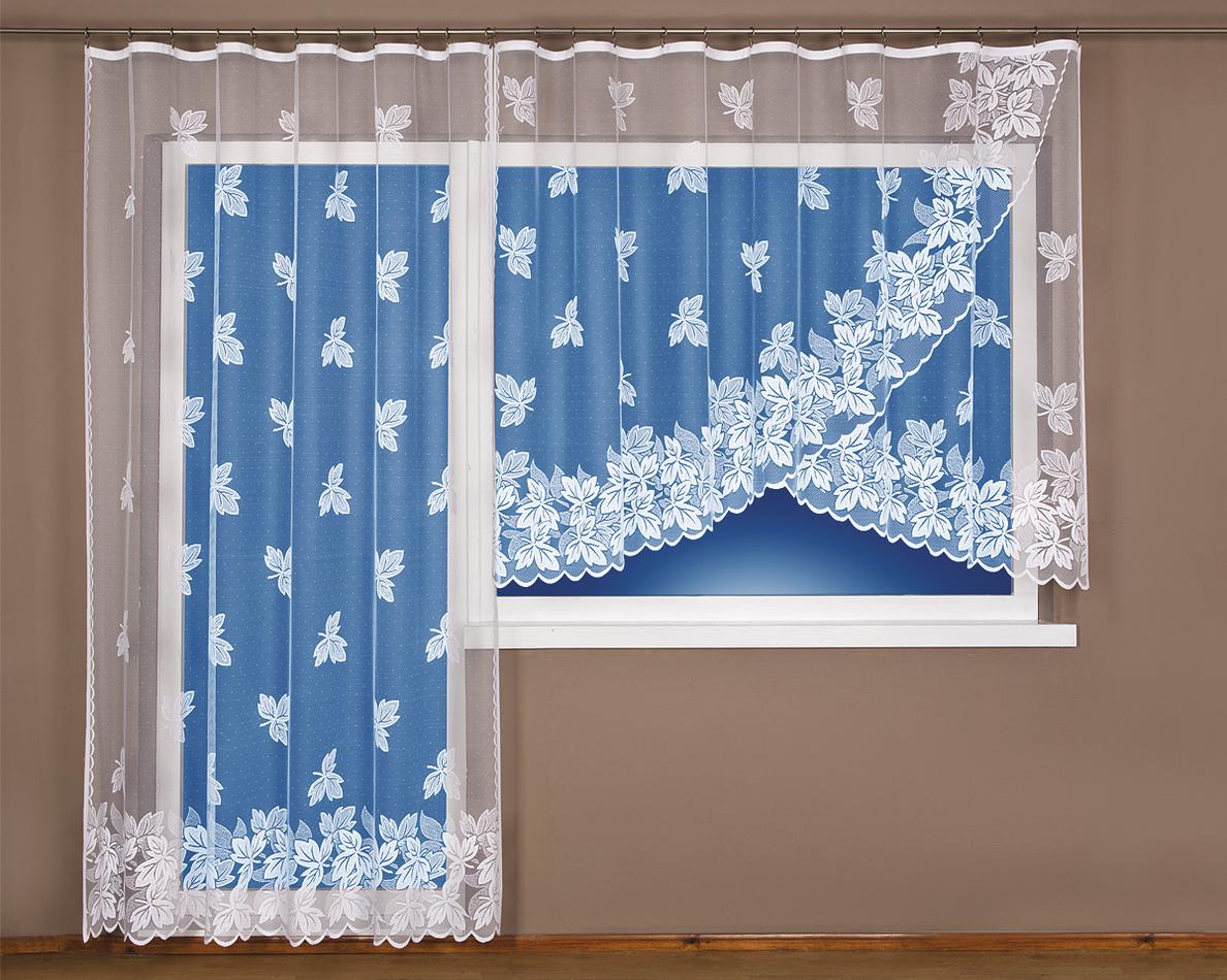 4Home záclona Brigita, 300 x 160 cm + 200 x 250 cm