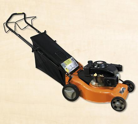 Benzínová rotační sekačka Sharks SH3000, oranžová