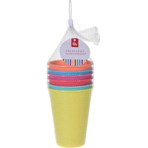 Excellent Houseware 6dielna sada plastových téglikov