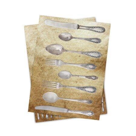 Matějovský kuchyňská utěrka Příbory,50x70 cm,2 ks