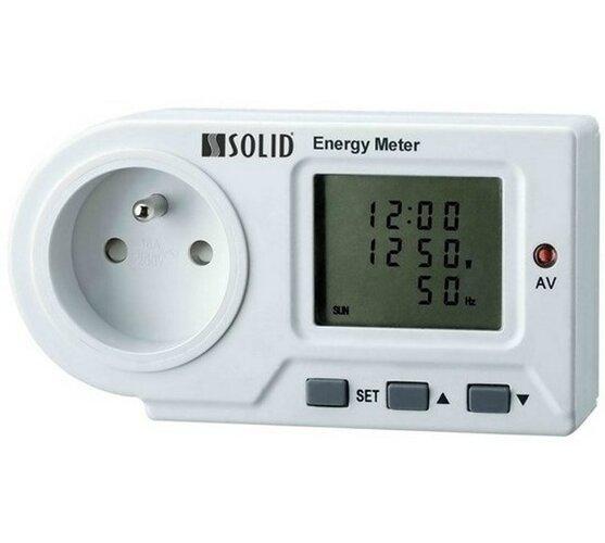 Digitálny meriač spotreby el.energie, Solight