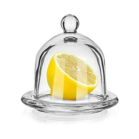 Banquet Dóza na citron skleněná Limon, 9,5 cm