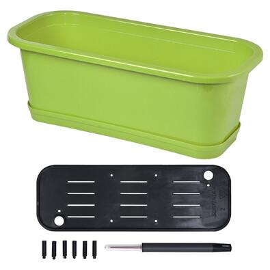 Samozavlažovací truhlík Petunia set 40 zelená