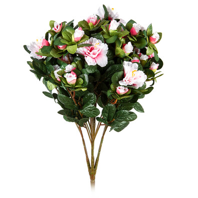 Sztuczny kwiat Różanecznik jasnoróżowy, 35 cm