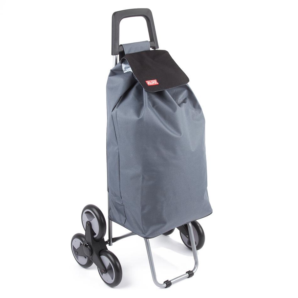 Aldo Nákupná taška na kolieskach Madrid, sivá