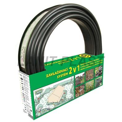 Obrubník zavlažovací Garden Diamond 12 m černý