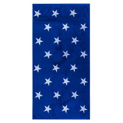 Osuška Stars modrá, 70 x 140 cm