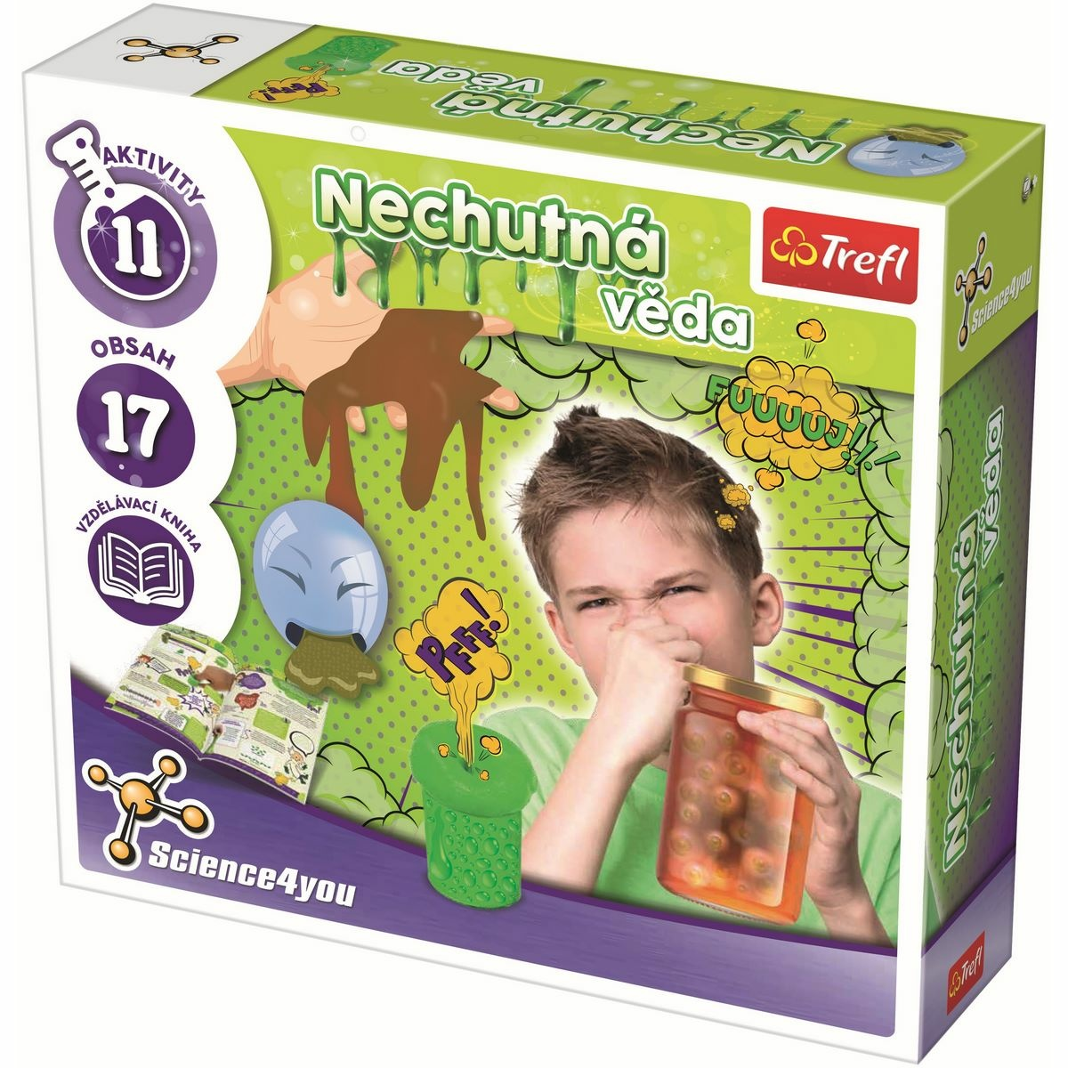 Trefl Science4you: Nechutná věda