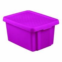 Curver Cutie de depozitare cu capac ESSENTIALS 16 l, violet