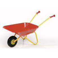 Rollytoys Zahradní kovové kolečko 80 x 41 x 38 cm, červená