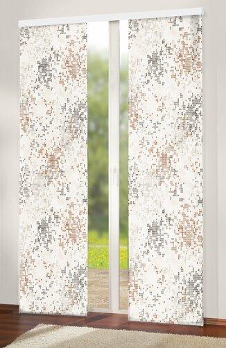 Japonská stěna Grain hnědá, 50 x 245 cm