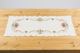 Vánoční ubrusový běhoun Zvony, 37 x 86 cm