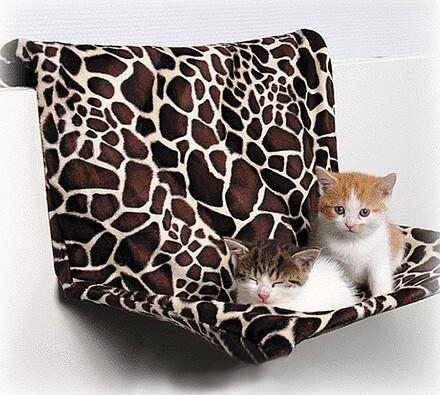 závěsná odpočívadla pro kočky, bílá, 51 x 36 cm