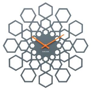 Nástěnné hodiny 5639GY Karlsson 48cm