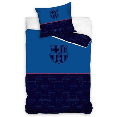 Bavlnené obliečky FC Barcelona Only Blue, 140 x 200 cm, 70 x 90 cm