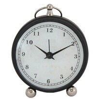 Ceas deșteptător Timing, negru