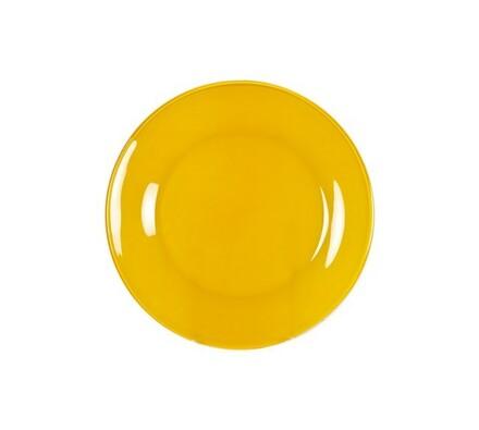 Dezertní talíř, 6 ks, žlutá, oranžová