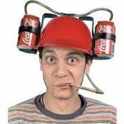 Pivní helma, černá
