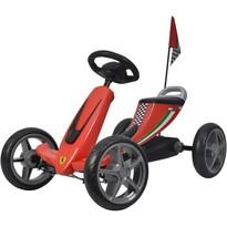 Buddy Toys BPT 2001 Šliapacia kára Ferrari Go Kart, červená