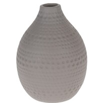 """Wazon ceramiczny Koopman """"Asuan"""" brązowy; 17,5cm"""