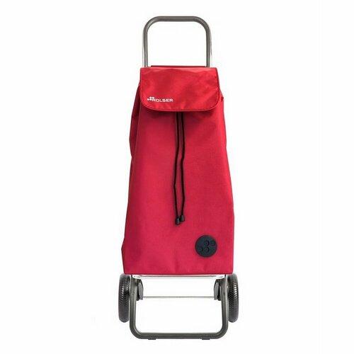 Rolser Nákupná taška na kolieskach I-Max Termo Zen Convert RG, červená